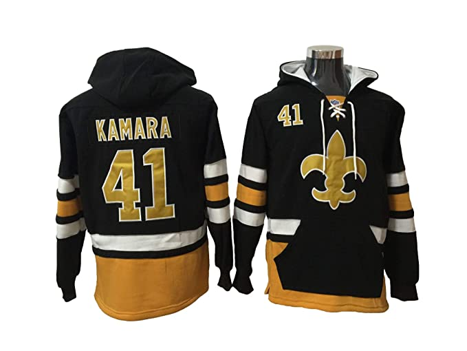 f4db8800f9d7 Kamara 41 Saints Football Hoodie Men Onesie Sweatshirt Champion Tank top  Sweaters Pullover Jersey (m