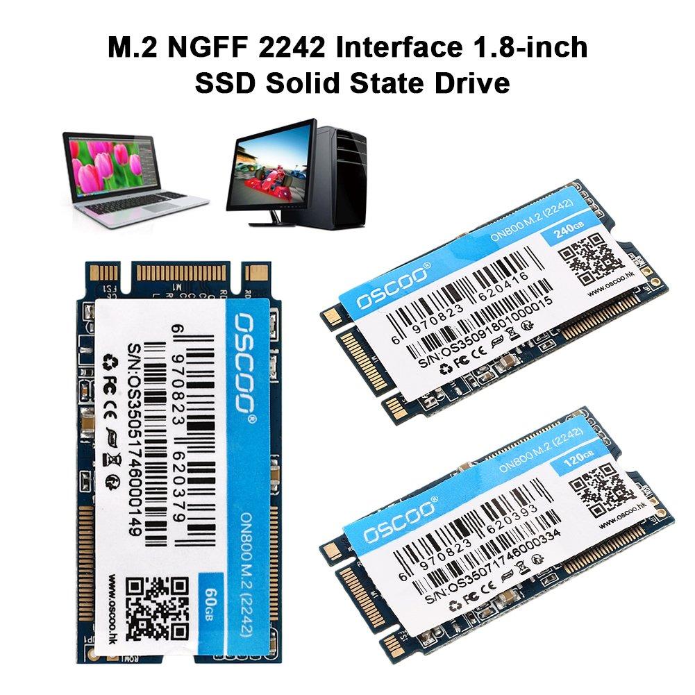 Wlgransp - Disco Duro SSD de Alta Velocidad para Ordenador Portátil (1,8 Pulgadas, 60 g): Amazon.es: Electrónica
