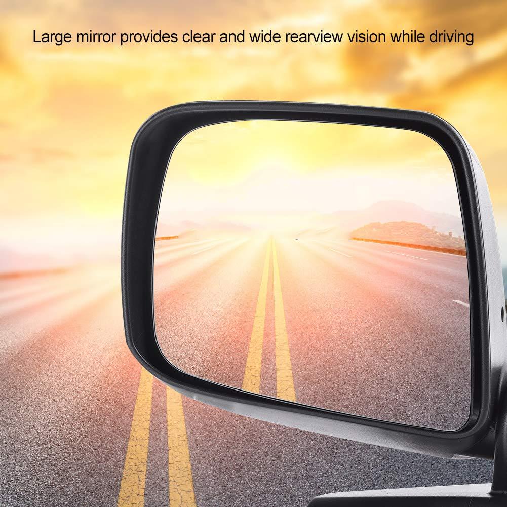 KIMISS Espejo retrovisor de espejo retrovisor de puerta completa el/éctrica para NV200 2010-2016 lado derecha del conductor
