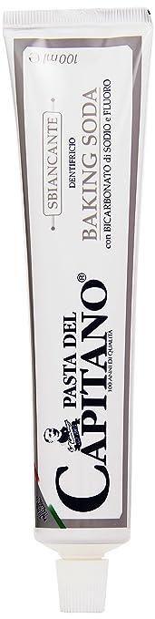 8 opinioni per Pasta del Capitano- Dentifricio Sbiancante, Con Bicarbonato di Sodio e Fluoro-