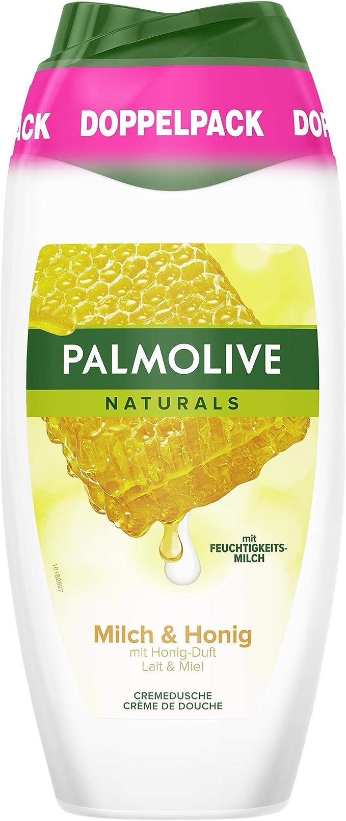 Palmolive Naturals Gel de Ducha Leche & Miel, pack doble, 2 x 250 ml: Amazon.es: Belleza