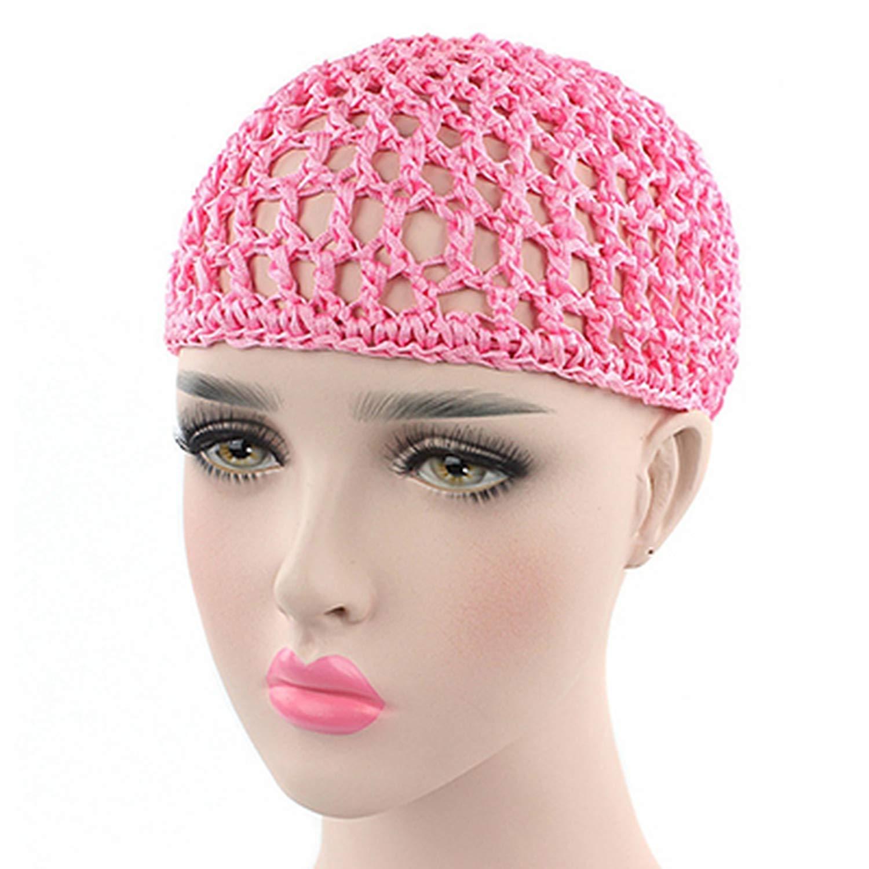 Mesh Hair Net Crochet Cap...