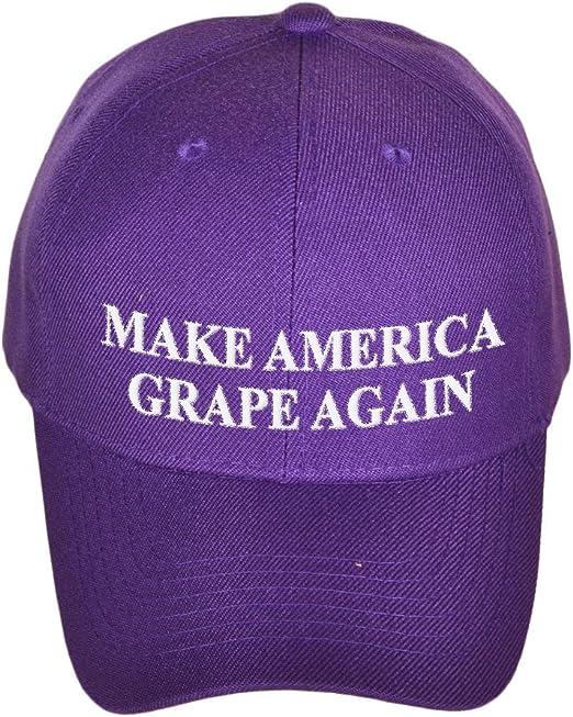 Make America Grape Again Satirical Baseball Cap At Amazon Men S
