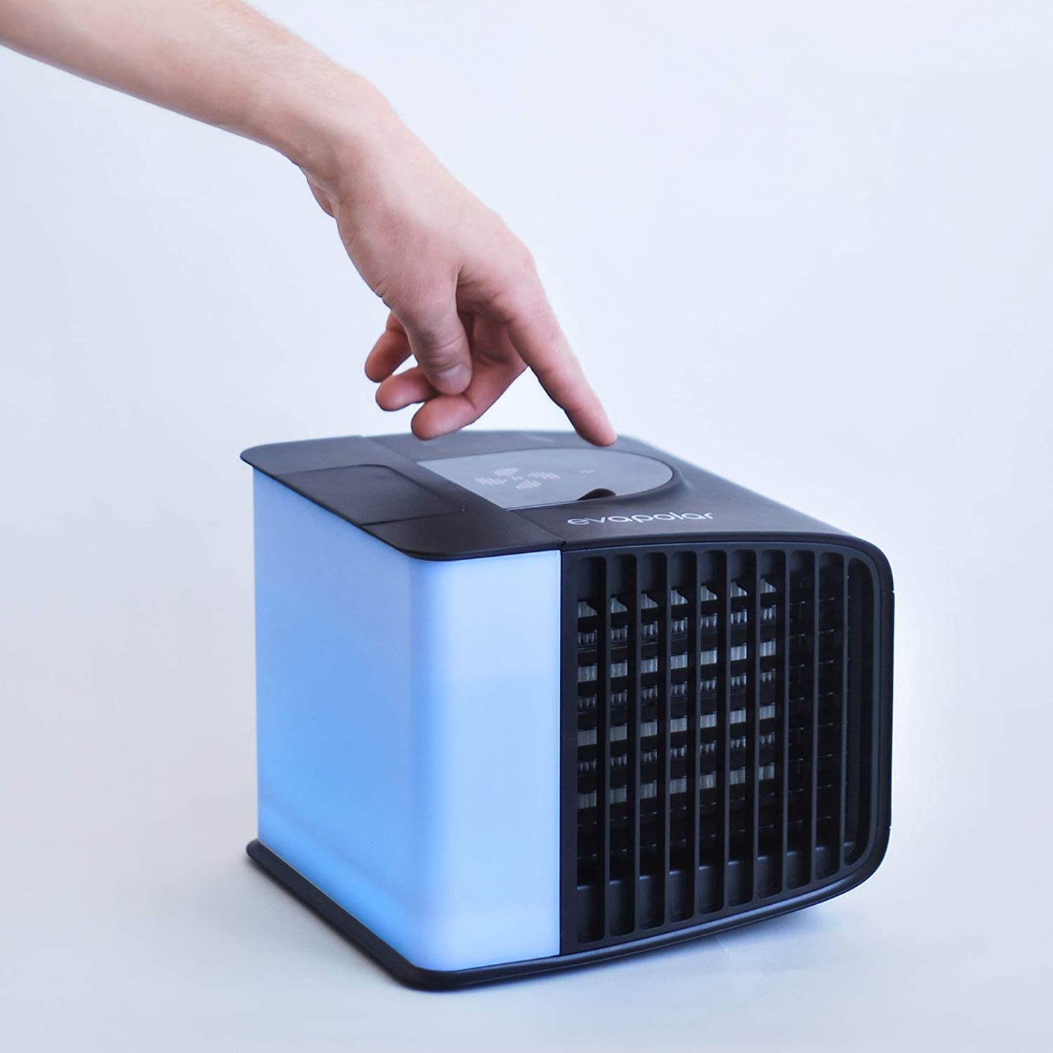 Opaque White Purifier and Humidifier Portable Air Conditioner EV-3000 with Alexa support Evapolar EvaSMART Personal Evaporative Air Cooler