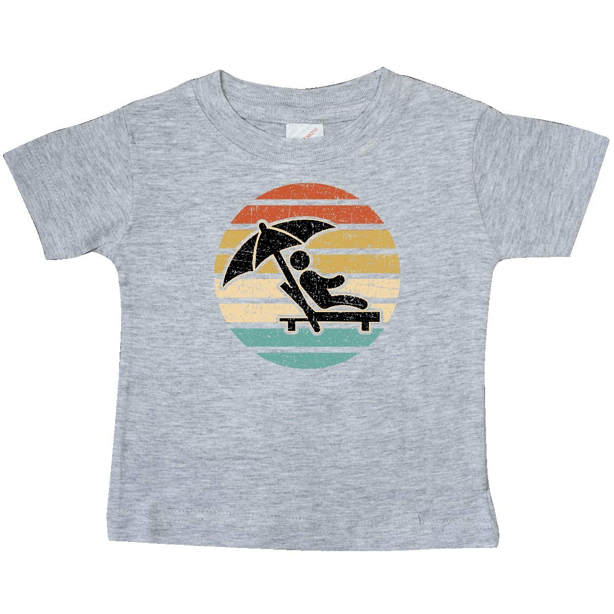 inktastic Beach Vacation Sunset Vintage Baby T-Shirt