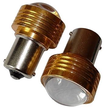 AERZETIX: 2x Bombillas 24V P21W R10W R5W LED HIGH POWER 3W blanco para camion semirremolque puerta de garaje portal C11785: Amazon.es: Coche y moto