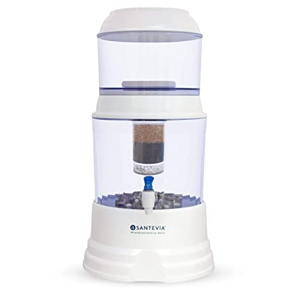 d4e093cd39 Santevia Gravity Water System - Countertop Model (with Fluoride Filter):  Amazon.ca: Home & Kitchen