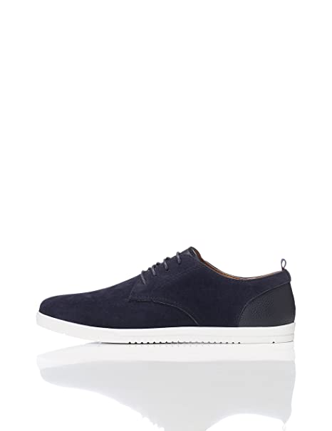Find Zapatillas Deportivas con Textura para Hombre, Azul (Navy), 45 EU