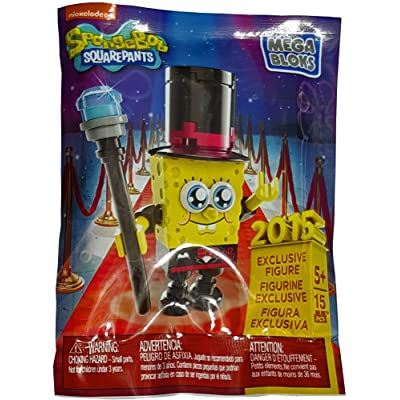 Mega Bloks Spongebob Squarepants Sponge Out of Water Exclusive 2015 Minifigure: Toys & Games