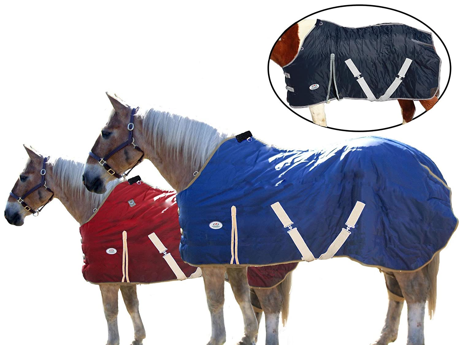 Derby Originals Big Sale Savings Heavy Weight 420D Winter Stable Blanket 300G 210T was 89.95 Now 39.95 Royal International