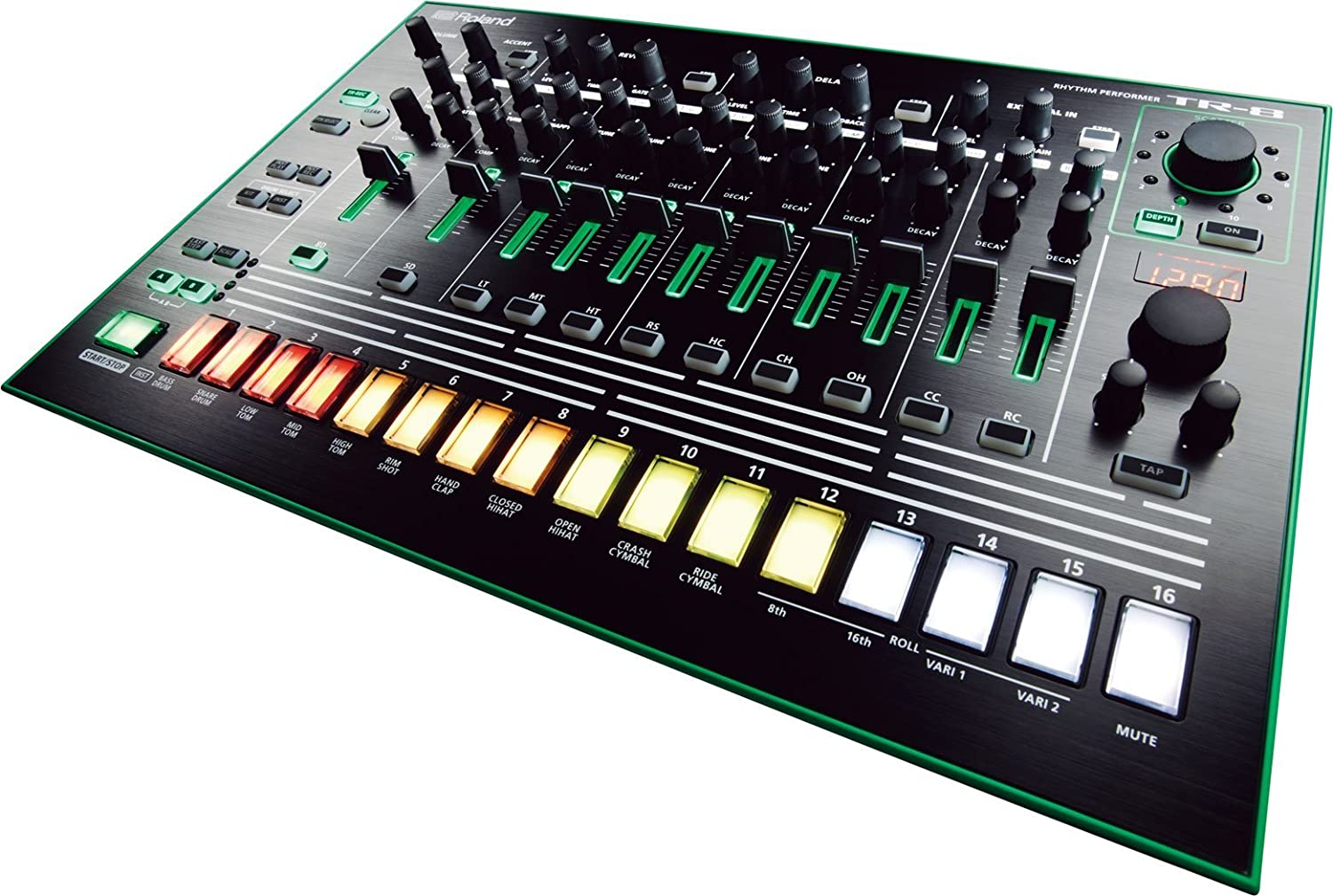 Amazon.com: Roland Aira TR-8 Rhythm Performer: Musical Instruments
