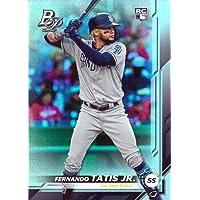 2019 Bowman Platinum Baseball #23 Fernando Tatis Jr. Rookie Card - Short Print photo