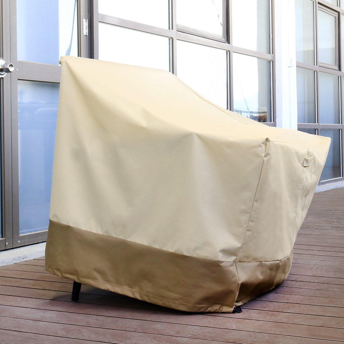 WINOMO Copertura Protettiva per Sedie Impilabili da Giardino Telo di Copertura da lounge Esterno