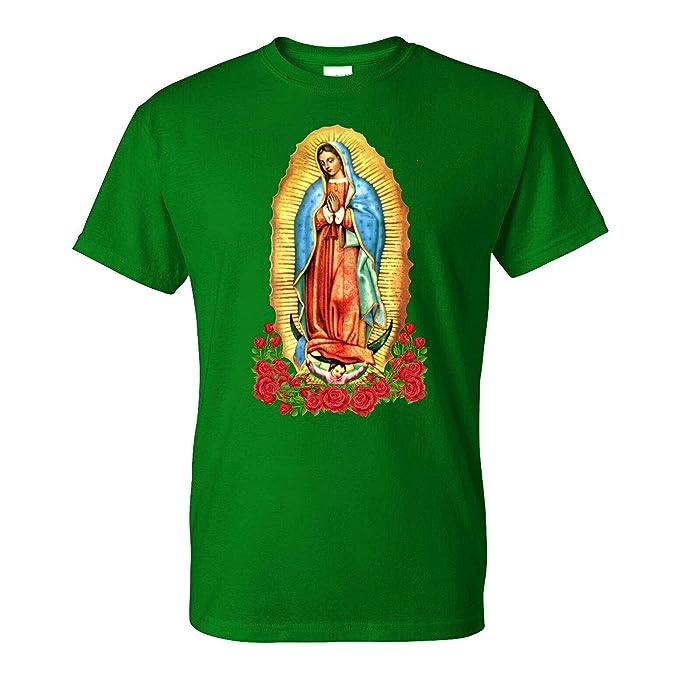 Amazon.com: Five Up Tees Virgen de Guadalupe - Camiseta para ...