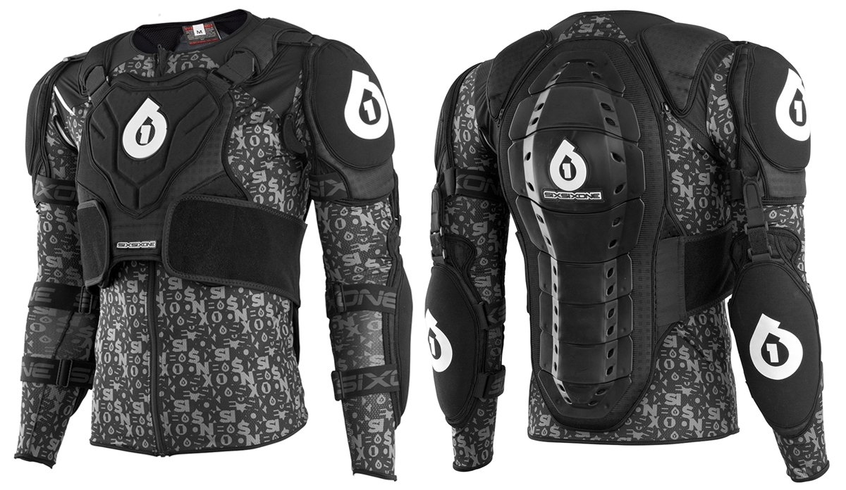 six six one Evo Pressure Suit (Black, Small) by SixSixOne
