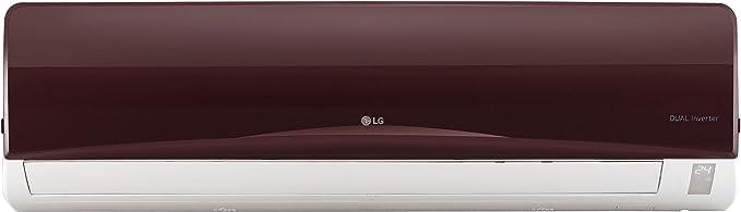 LG 1.5 Ton 3 Star Inverter Split AC (Copper, JS-Q18RUXA, Nova Red)