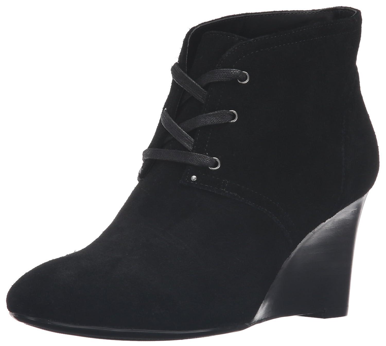 Lauren Ralph Lauren Women's Tamia-Bo-Cwd Boot B01F4T3922 10 B(M) US|Black Suede