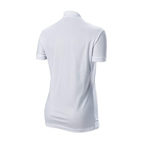 Wilson Authentic - Polo para Mujer, Color Blanco: Amazon.es ...
