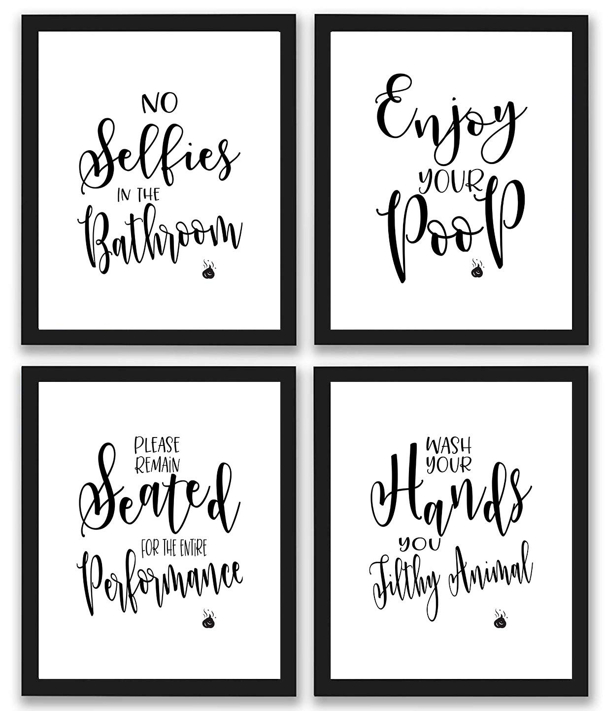 dd8159a7fd7 Bathroom Quotes and Sayings Art Prints