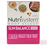 Nutrisystem® Body Select™ Slim Balance 5-Day Weight Loss Kit: Delicious Meals with Balanced Nutrition to Help You Lose…