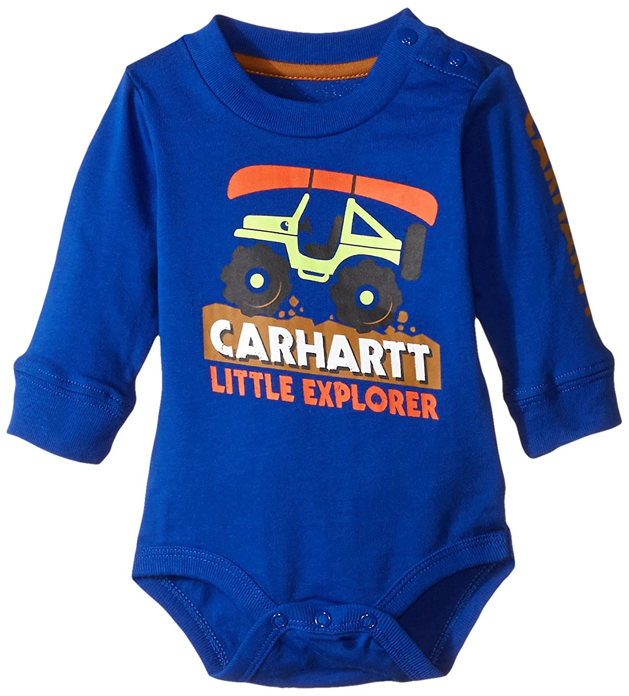 Carhartt Baby Boys' Long Sleeve Bodysuit 2 Pack LongSleeve Bodysuit