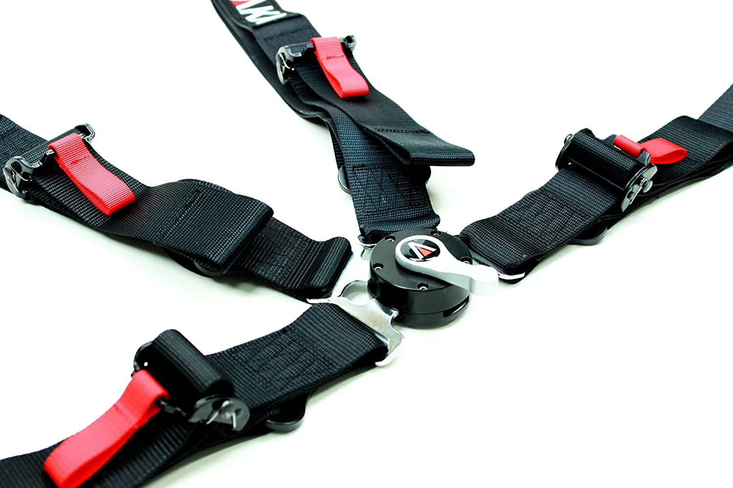SINGLE Racing Style Harness For Powersports Black
