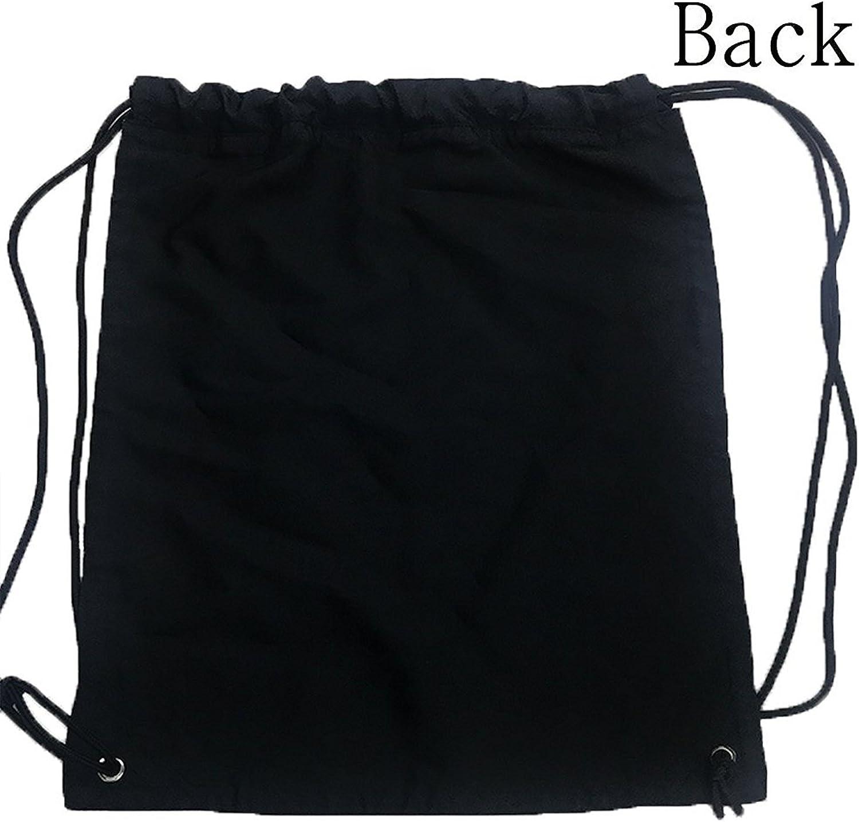 Allan J Beasley Folding Sport Backpack Casual Daypacks for Team Group Men Women Sugar Skull Pattern - Black