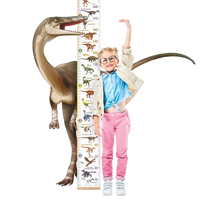 SPACECRAFT ANIMAL DINOSAUR KIDS HEIGHT CHART GROWTH WALL HANGING DECOR FIL