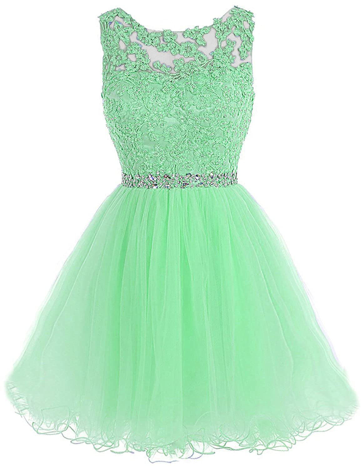 361mint Sarahbridal Women's Short Tulle Beading Homecoming Dresses 2019 Prom Party Gowns