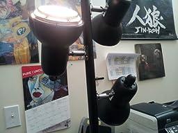 Normande Lighting Js1 111 Trac 3 Light Tree Lamp Black Floor Lamps Amazon Com
