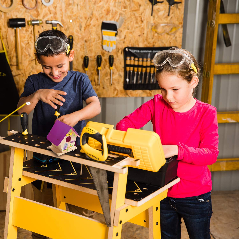 Large Wood Building Kits Ages 5+ Stanley Black /& Decker Stanley Jr. OK009BUD-Sy - Birdhouse Kit