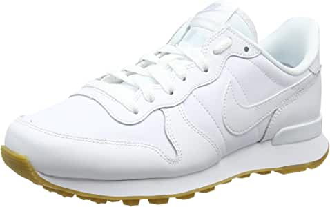 Nike Internationalist, Zapatillas para Mujer, Blanco (White/White ...
