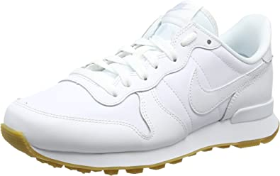 nike internationalist femme blanc et or