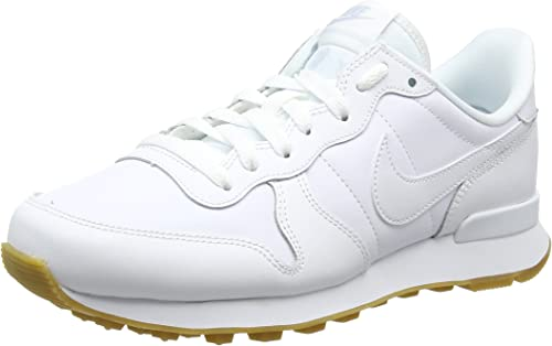 nike internationalist femme blanc doré