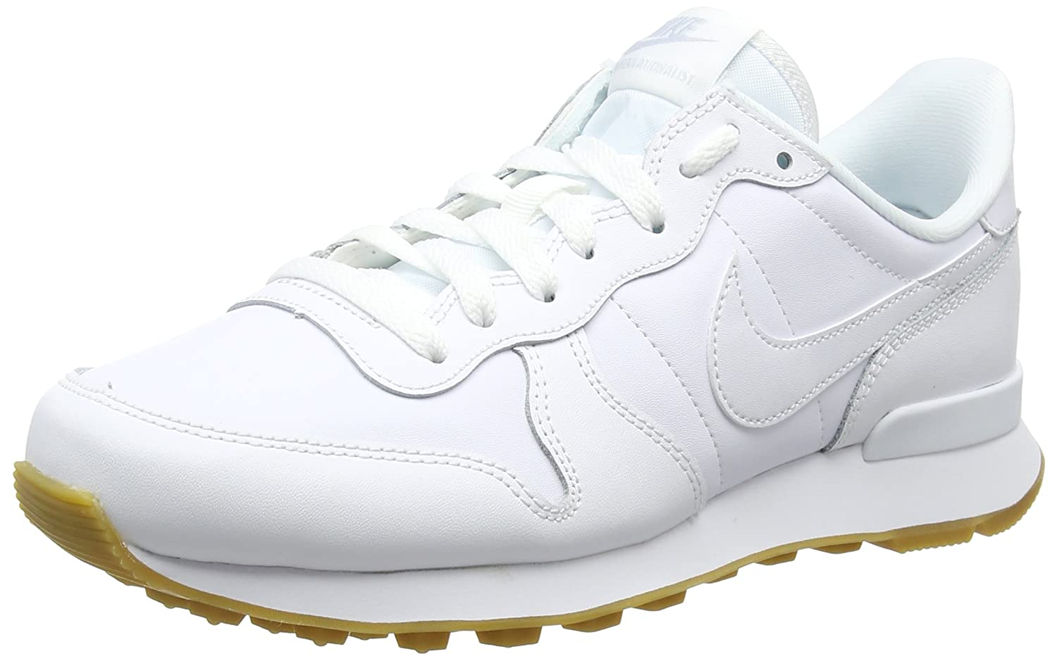 Nike Wmns Internationalist, Zapatillas para Mujer 36.5 EU|Blanco (White/White-white-gum Light Brown 103)