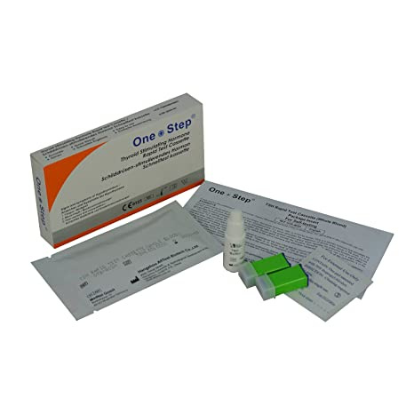 Underactive Thyroid Testing Kit, TSH Blood Tests for Hypothyroidism One  Step (1 Test)