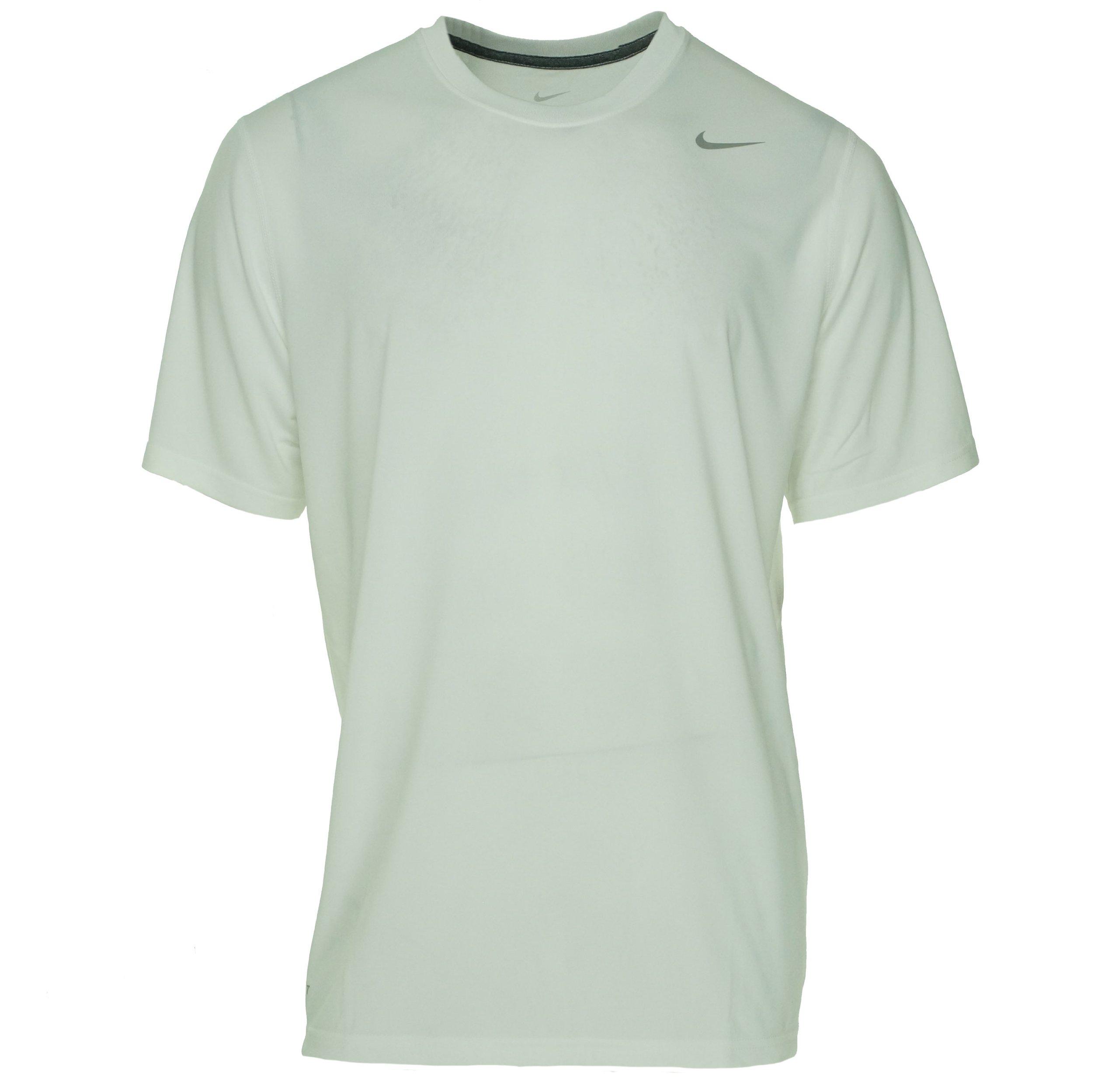 7137554e1 Men's Nike Tailwind Stripe Dri-Fit Touch Running Shirt 799137 011 Size  Medium. $24.99. Nike Legend White Short Sleeve Performance Shirt, XL
