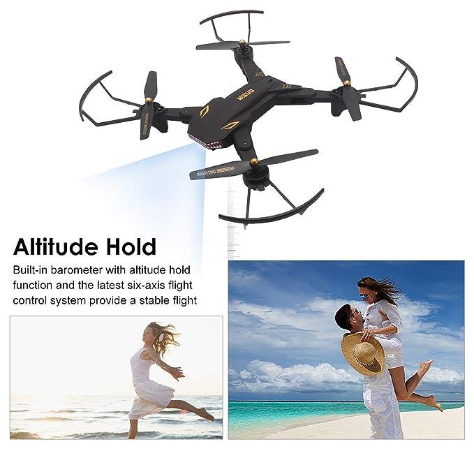 Fpv Camera Altitude Jiobapiongxin Visuo Selfie Xs809s Wifi Rc Drone 34AR5jqL