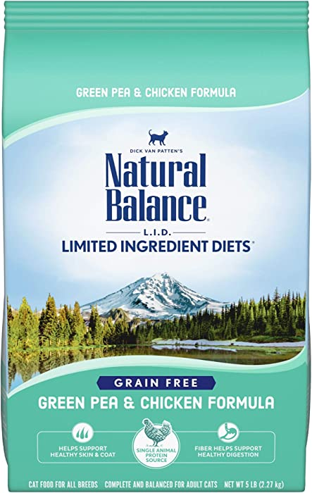 Natural Balance L.I.D. Limited Ingredient Diets Dry Cat Food, Grain Free