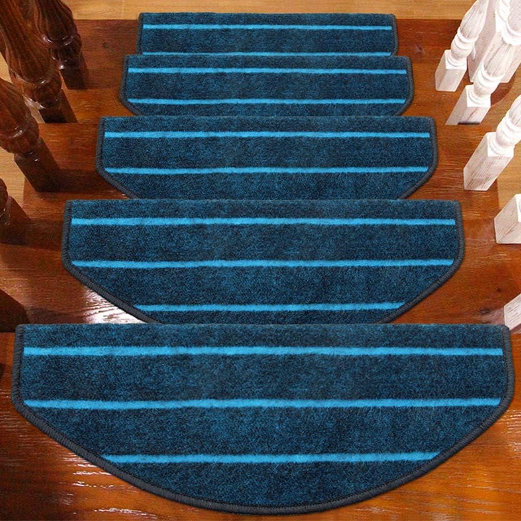 World-ditan Escalera Alfombra-escalón Almohadilla escalonada Hebilla mágica Escalera tapete Antideslizante tapetes para el hogar (Color : A(5pcs), Tamaño : 65 * 24 * 3cm): Amazon.es: Hogar