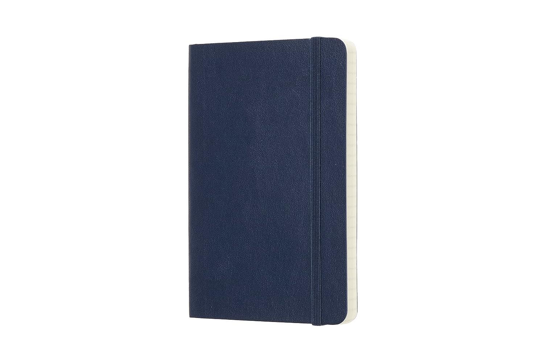Cuaderno Cl/ásico con P/áginas Rayadas Tama/ño Grande 13 x 21 cm Moleskine Tapa Dura y Goma El/ástica 240 P/áginas Color Marr/ón Tierra