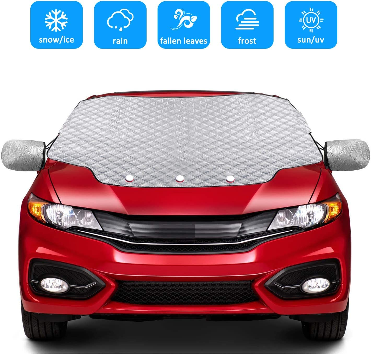 FREE Storage Bag Nissan Car Anti Frost Snow Screen Cover All Weather
