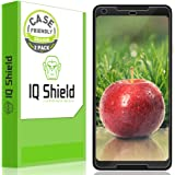 IQShield Screen Protector Compatible with Google Pixel 2 XL (2-Pack)(Case Friendly)(Not Glass) Anti-Bubble Clear Film