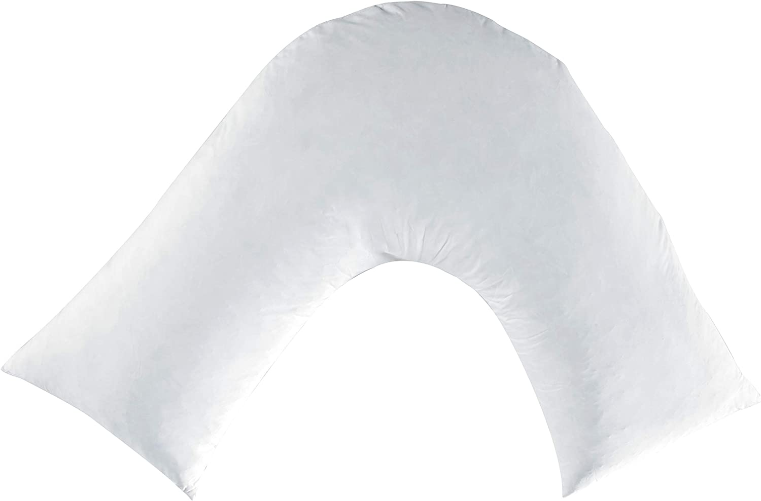 ARLINEN V Shaped Pillow Duck Feather /& down Extra Filled Comfort pillow for Back /& Neck Support