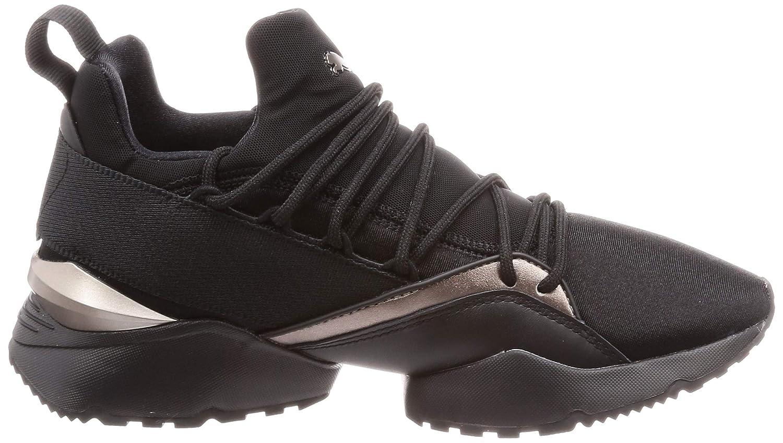 Zapatillas Puma Muse Maia Luxe Negro Mujer: Amazon.es: Zapatos y complementos