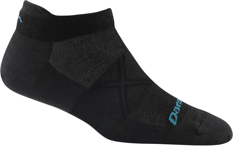 Darn Tough Womens Vertex Tab No Show Ultra-Light Socks Large Black