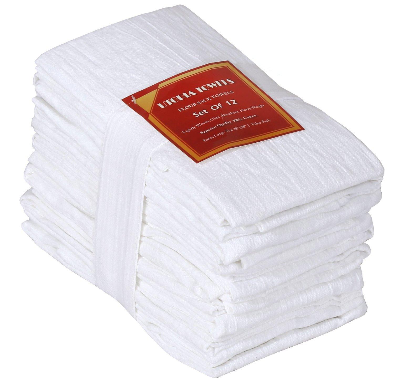 Flour-Sack-Towels ( 12 Pack