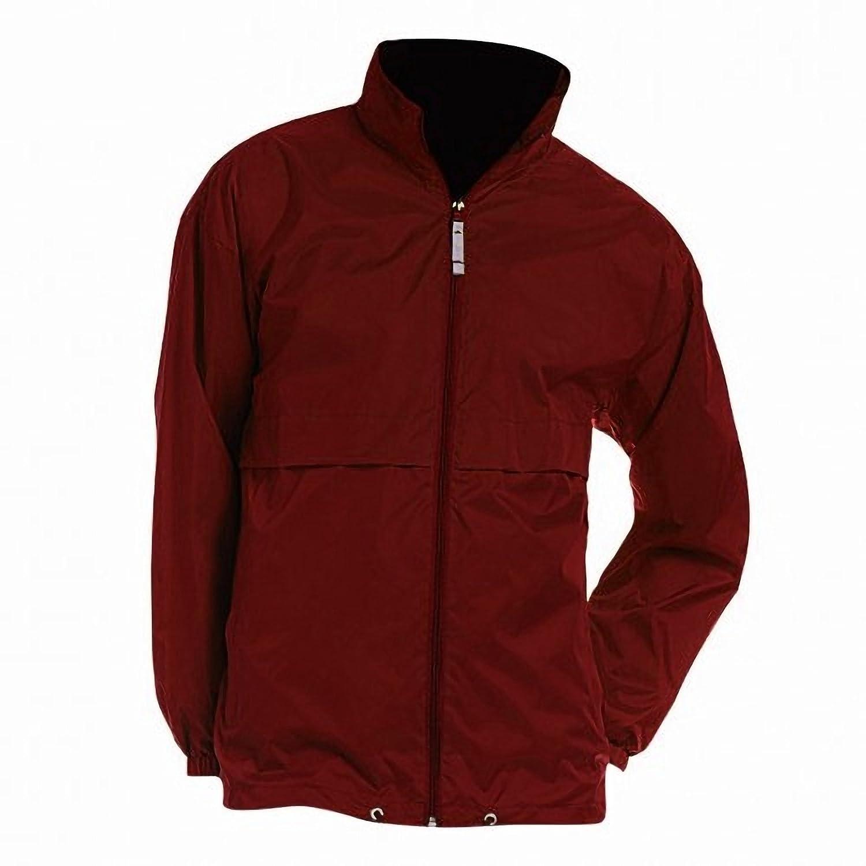B&C Mens Air Lightweight Windproof, Showerproof & Water Repellent Jacket B and C