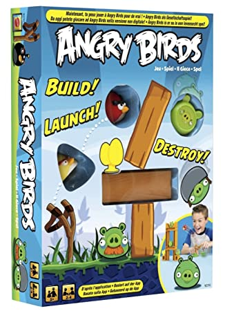 mattel w2793 angry birds brettspiel zur app vos. Black Bedroom Furniture Sets. Home Design Ideas