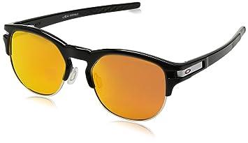 Oakley Latch Key L Sunglasses Polished Black Ink/Prizm Ruby 2018 Sonnenbrillen n9u3X